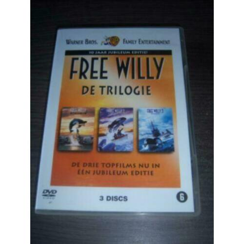 Free Willy De Triologie (3-dvd) Box in nieuwstaat
