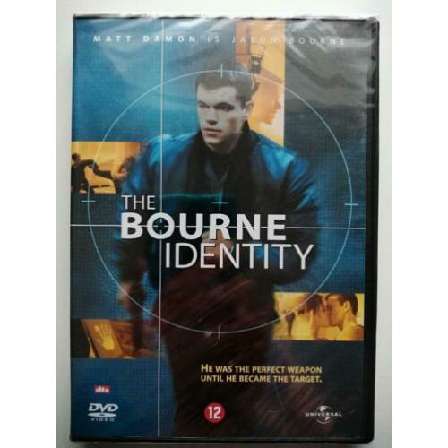 DVD - The Bourne identity ( nieuw in seal ) Matt Damon