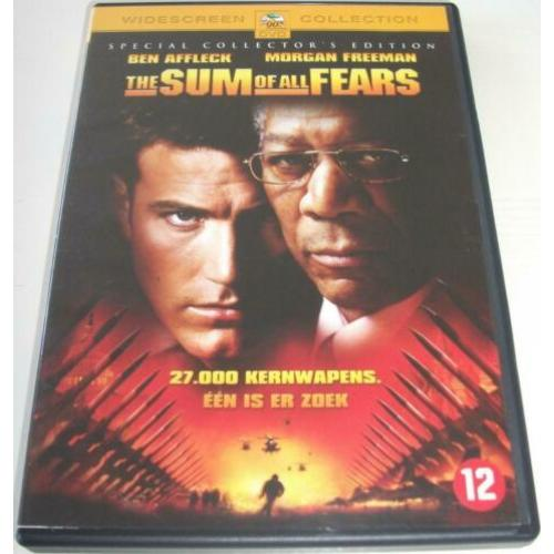 Dvd *** THE SUM OF ALL FEARS *** Special Collector's Edition