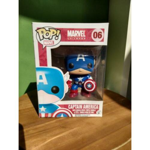 Funko Pop Marvel Universe #06 Captain America